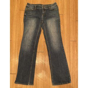 Simply Vera Wang 6P Jeans 30 in inseam bootcut
